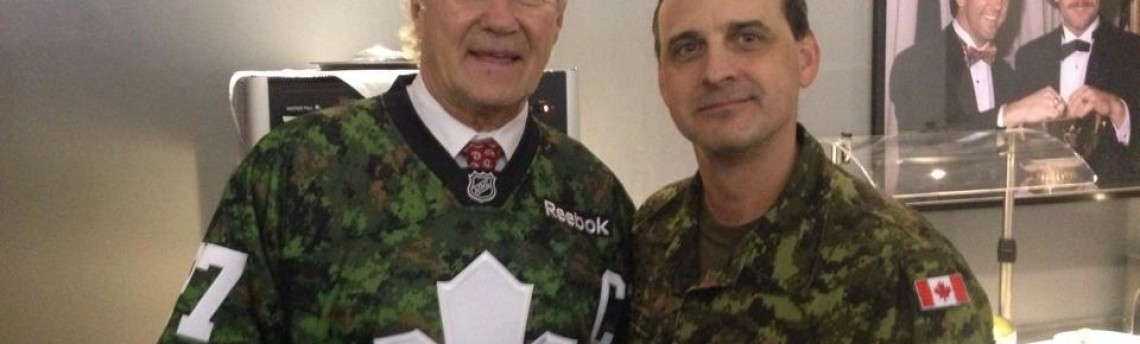 Canadian Arm Forces Appreciation Night with Toronto Maple Leafs @ ACC