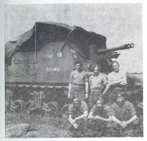 A Sexton SP gun of 29th Battery in Holland c. 1945