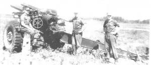 42nd Medium Regiment c.1959 in Petawawa