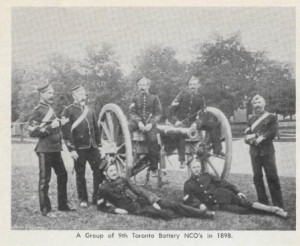 NCO's from 9 Batter c. 1898